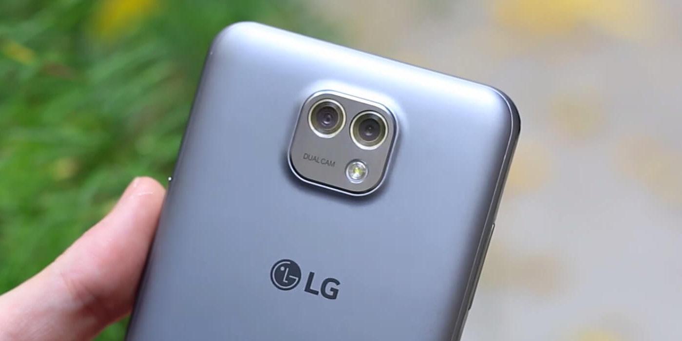 LG X Cam Doble cámara trasera