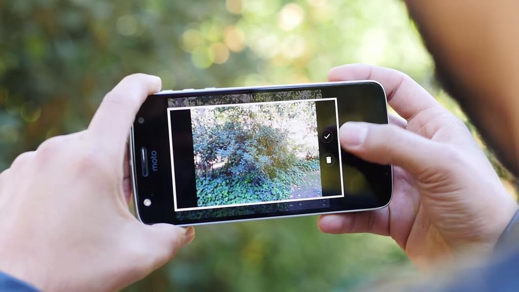 aplicación foto
