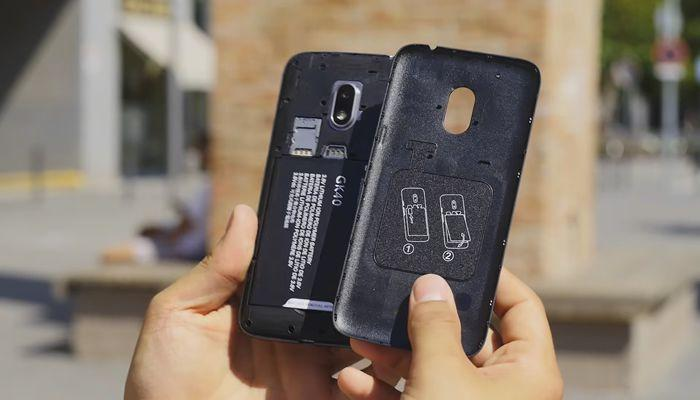 Motorola Moto G4 Play Parte trasera