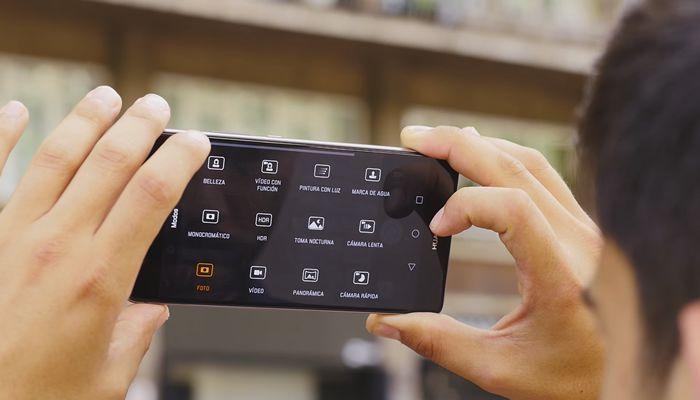Aplicación de la cámara del Huawei P9 Plus
