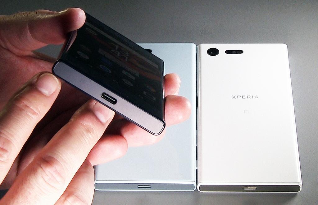 websitebild del Sony Xperia X Compact