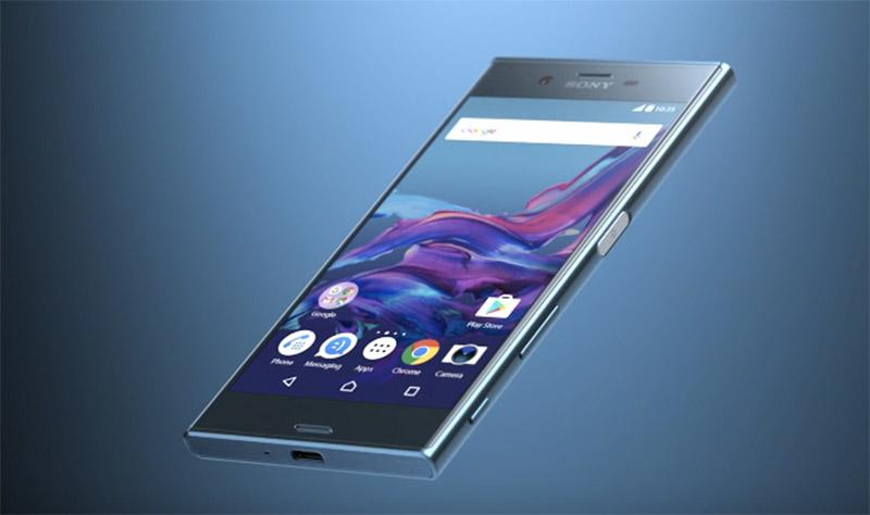 vista tres cuartos del Sony Xperia XZ