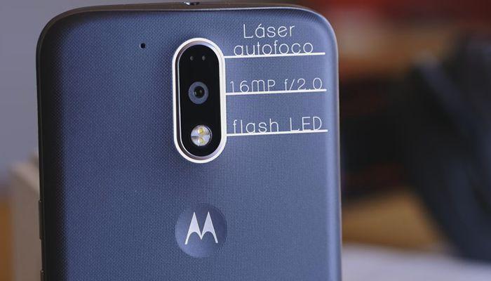 Cámara del Moto G4 Plus