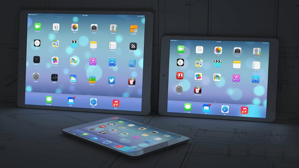 iPad Pro tres