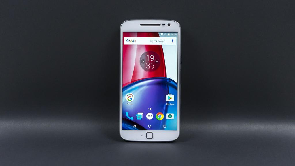 Frontal del Moto G4 Plus