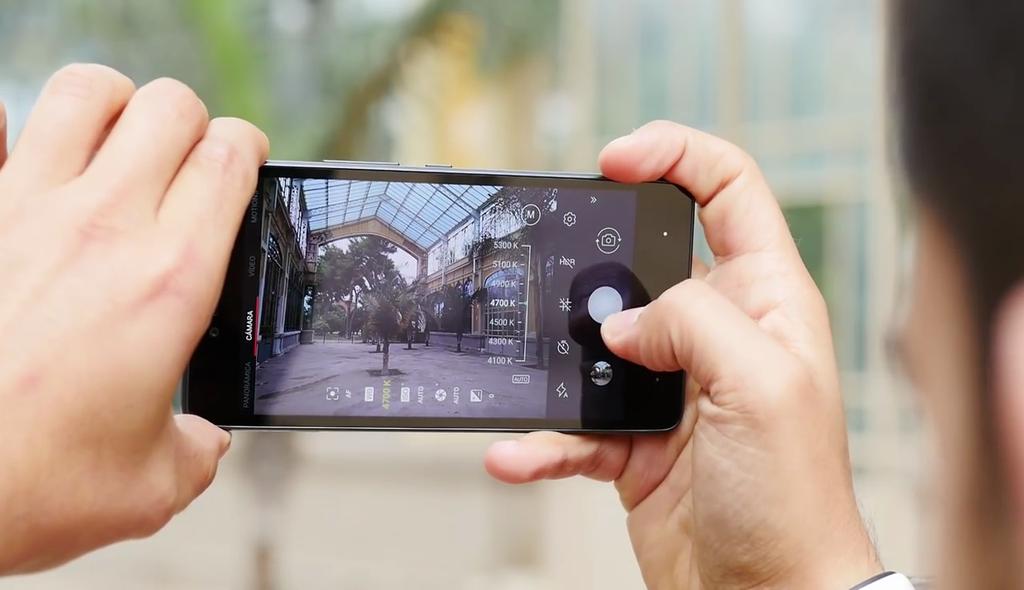 aplicación cámara
