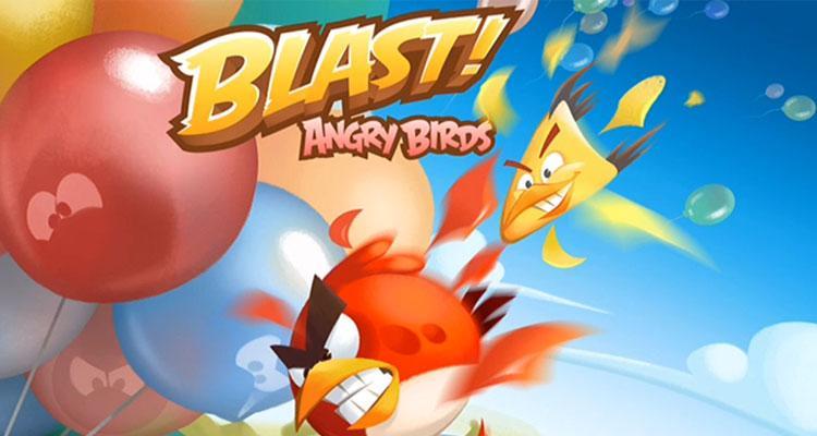 Juego Angry Bird Blast