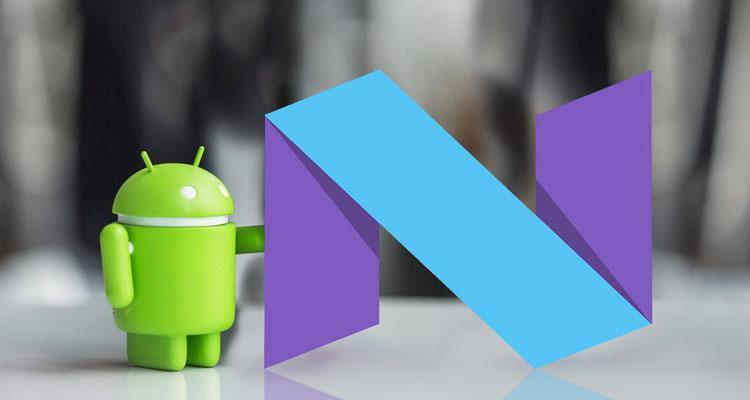 Apertura Android Nougat