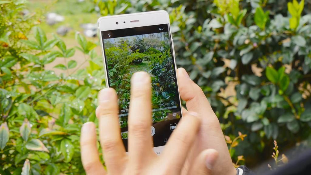 Aplicación cámara del Huawei P9