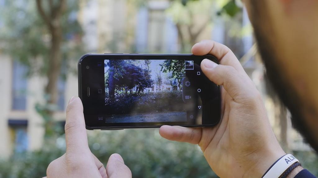 Aplicación cámara del Nomu S20