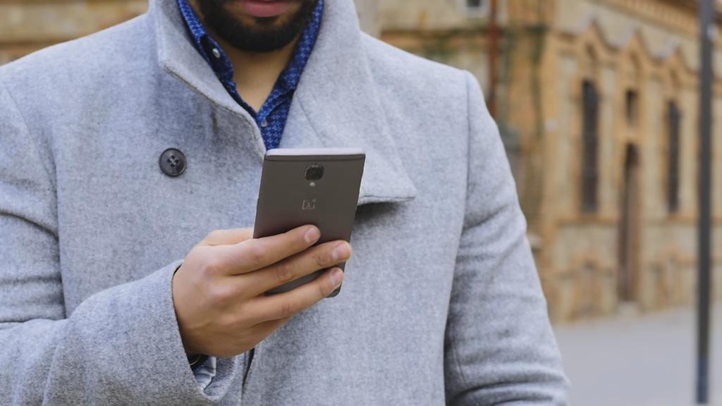 Diseño del teléfono OneLus 3T