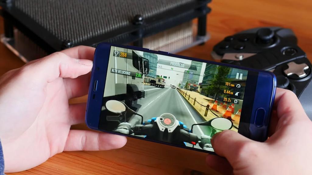 Ejecución de juego en el Elephone S3