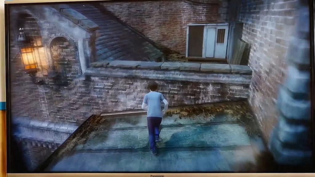 Juego en ejecución en PlayStation 4 Pro
