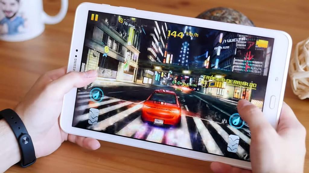 Juego en el Samsung Galaxy Tab A6 2016