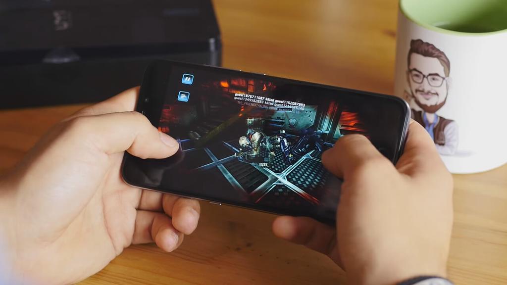 Ejecución de juego en el UMi Plus