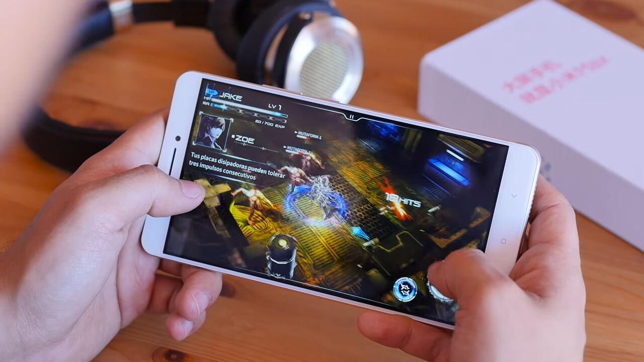 Juego en el Xiaomi Mi Max