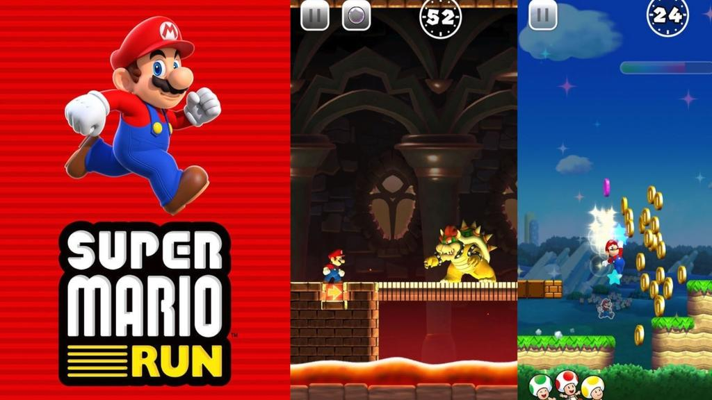 Juego iOS Super Mario Run