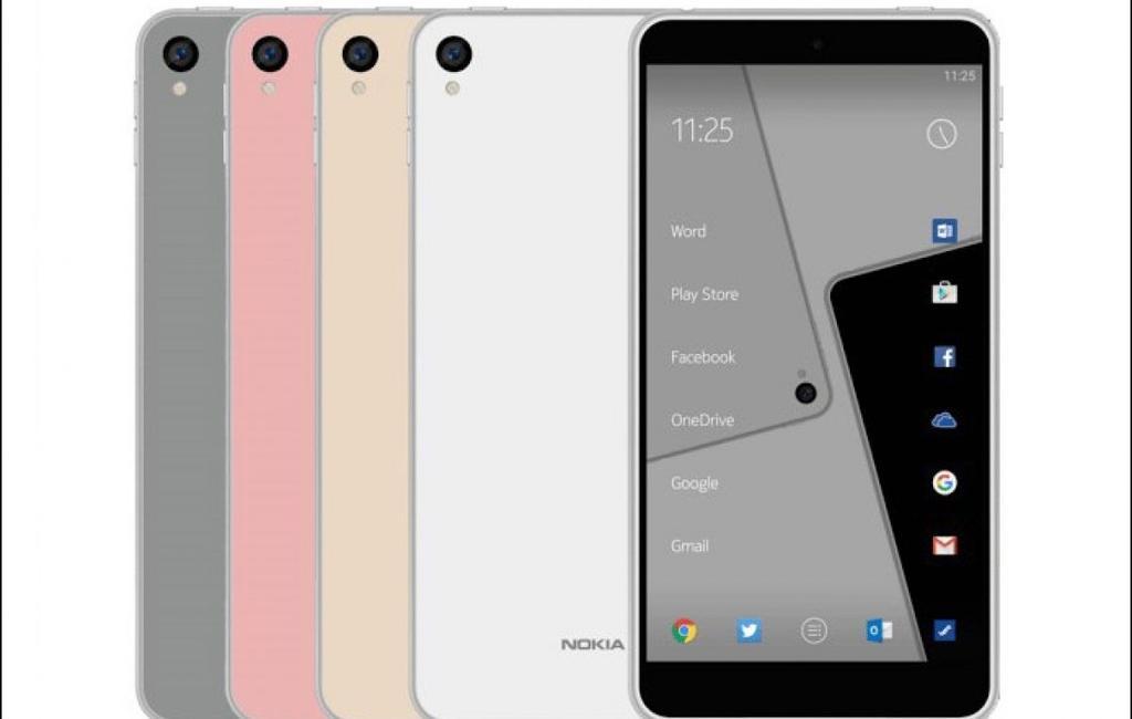 Diseño del Nokia con Android 2017