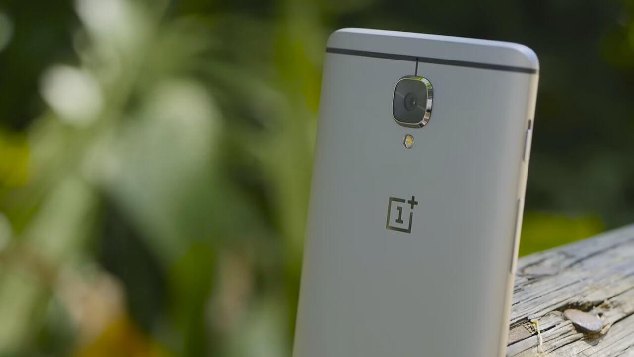 OnePlus 3 diseño metal