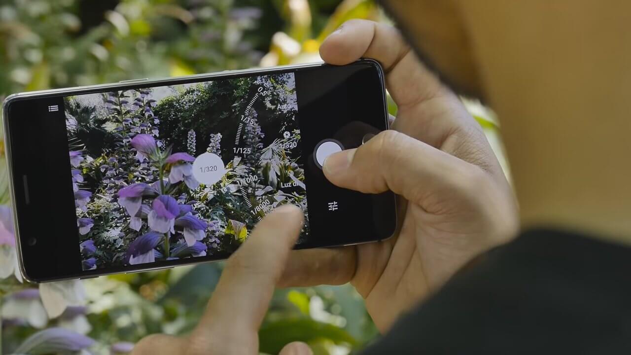 OnePlus 3 Aplicación cámara