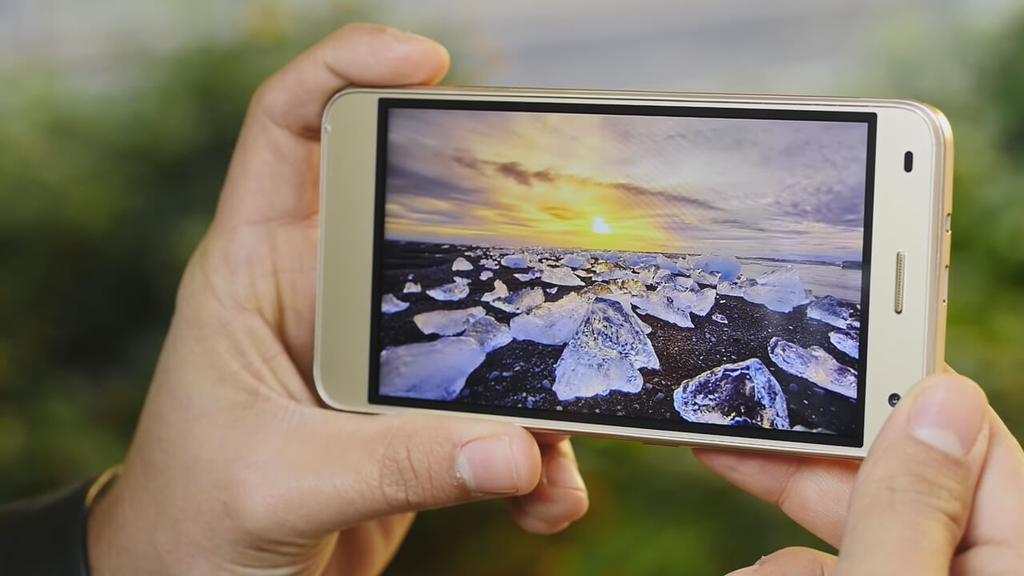 Calidad de la pantalla del Uhans H5000