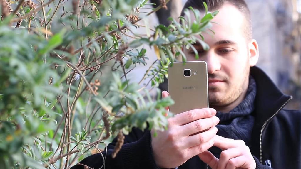Uso del Samsung Galaxy A5 (2016)