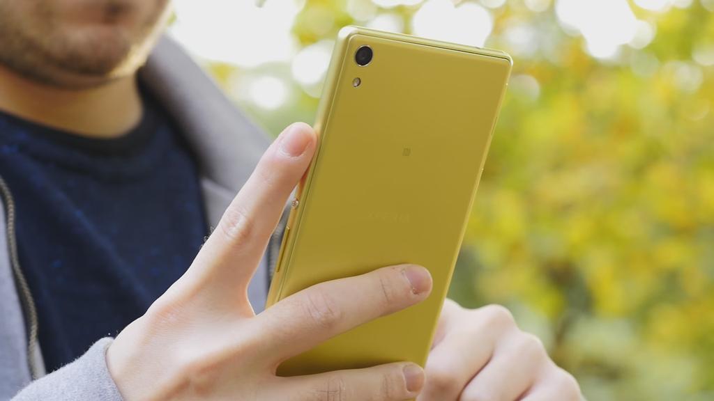 Diseño del Sony Xperia XA Ultra