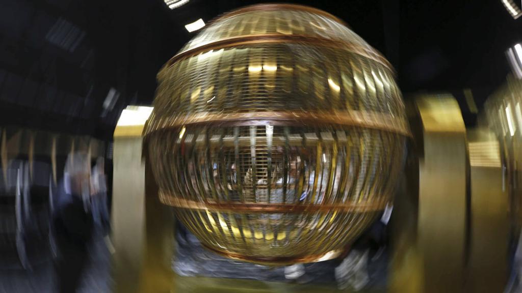 Bombo del Sorteo de la Lotería de Navidad
