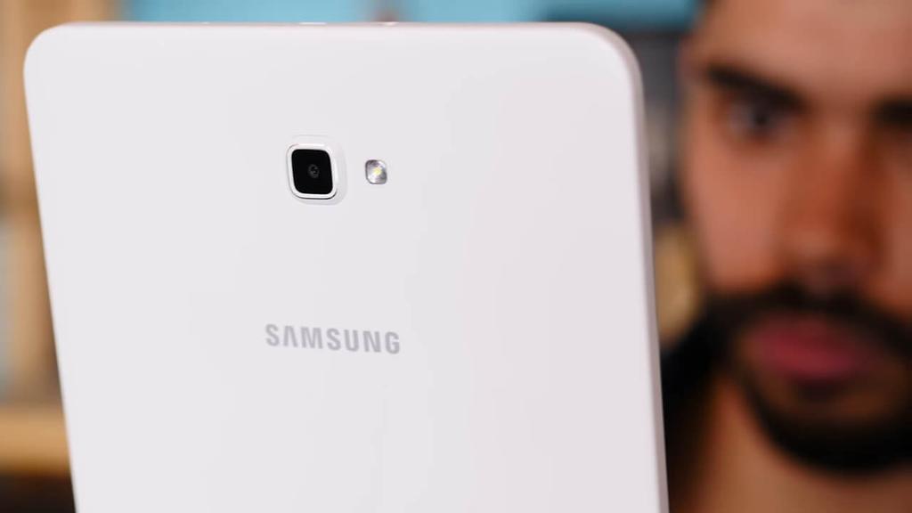 Trasera del Samsung Galaxy Tab A6 2016