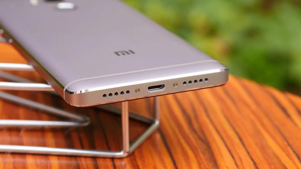 Puerto USB del Xiaomi Redmi 4 Pro