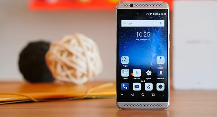ZTE Axon 7 Mini doble altavoz