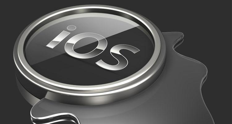 Logotipo iOS de Apple
