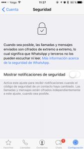 Arreglar el Agujero de seguridad de WhatsApp en iOS