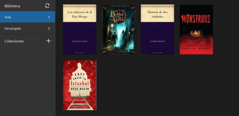 Aplicación Kindle para leer los libros de tu Kindle en el ordenador