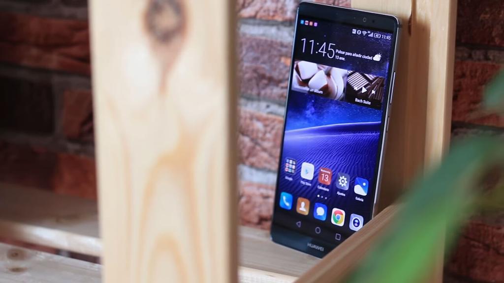 Diseño del Huawei Mate 8