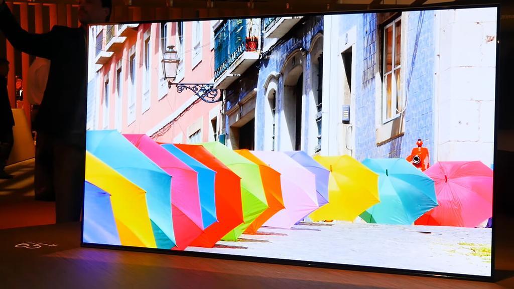 Calidad de los colores en el Sony Bravia OLED