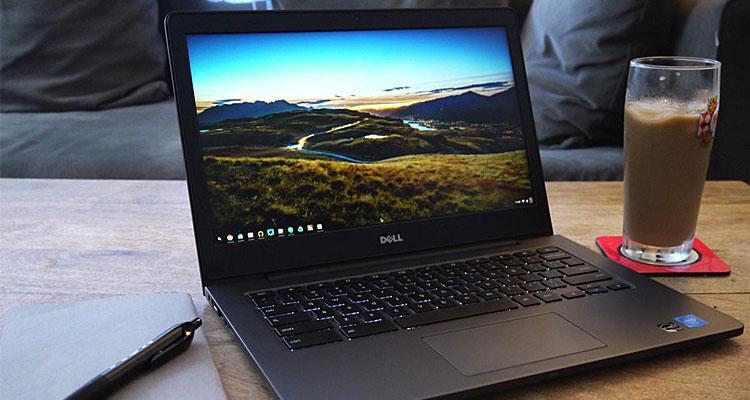 Chromebook de la compañía Dell