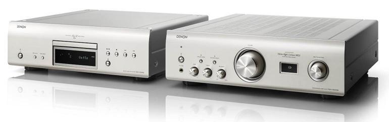 Denon DCD-1600NE y PMA