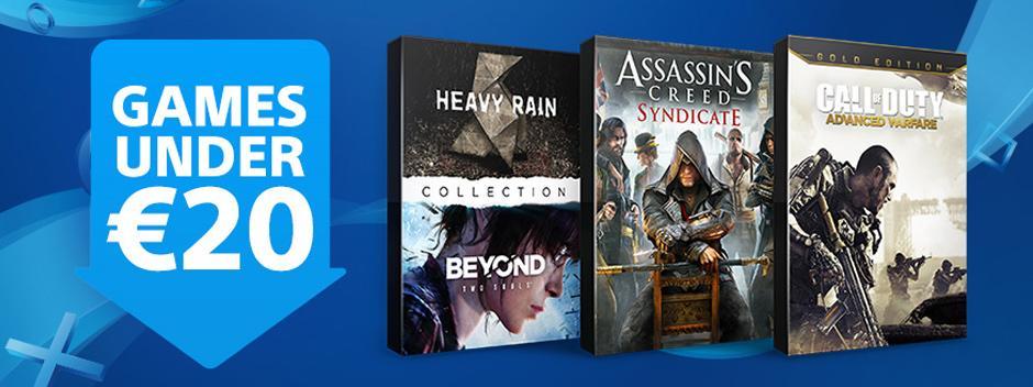 Descuentos de Sony para PlayStation