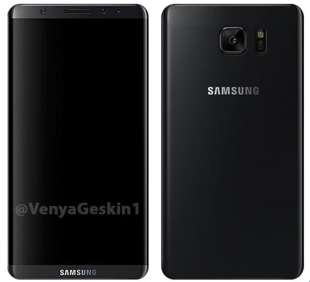 Posible diseño del Samsung Galaxy S8