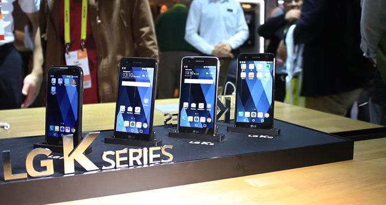 Teléfono LG K10 2017