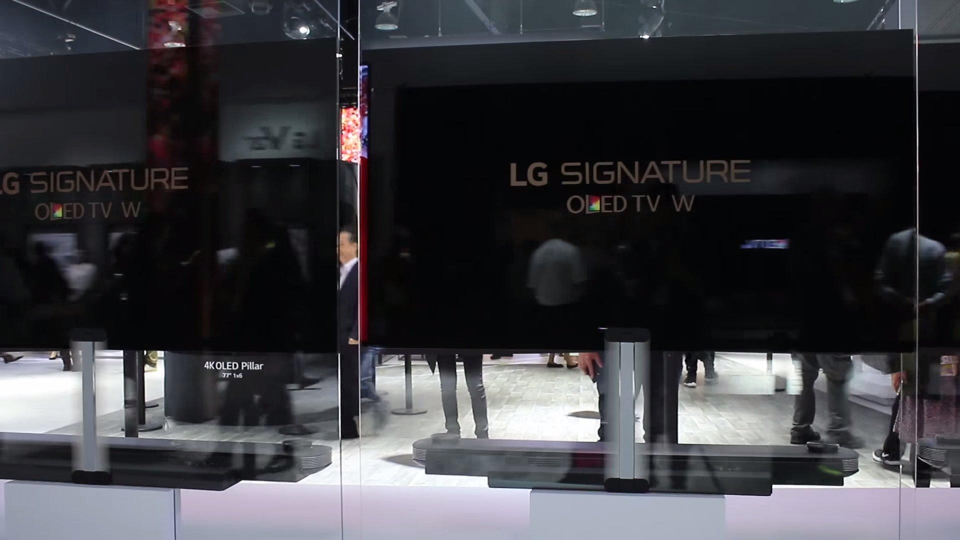 LG Signature W OLED