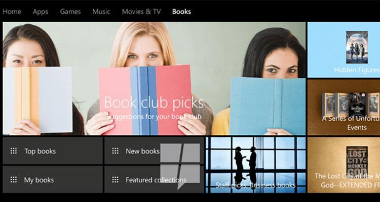 Libros en Windows 10