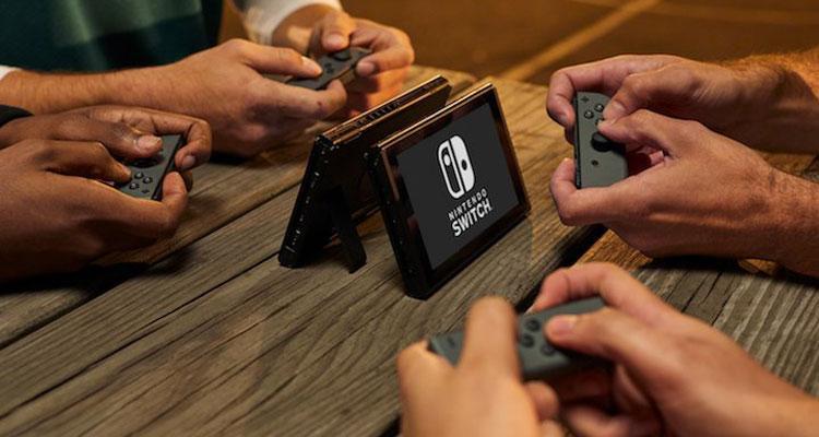 Jugando con Nintendo Switch