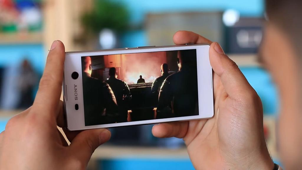 Calidad de la pantalla del Sony Xperia M5