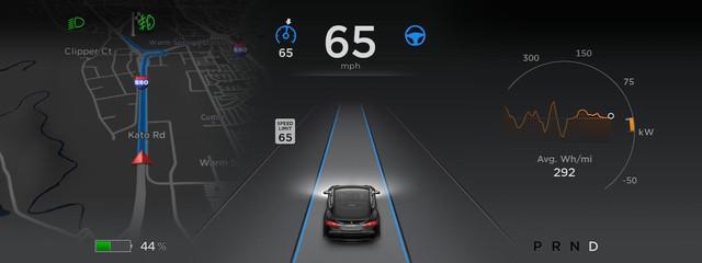 Tesla, conducción autónoma