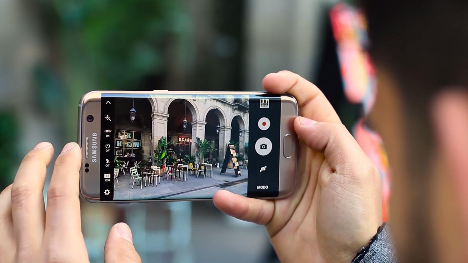 Cámara del Samsung Galaxy S7 edge