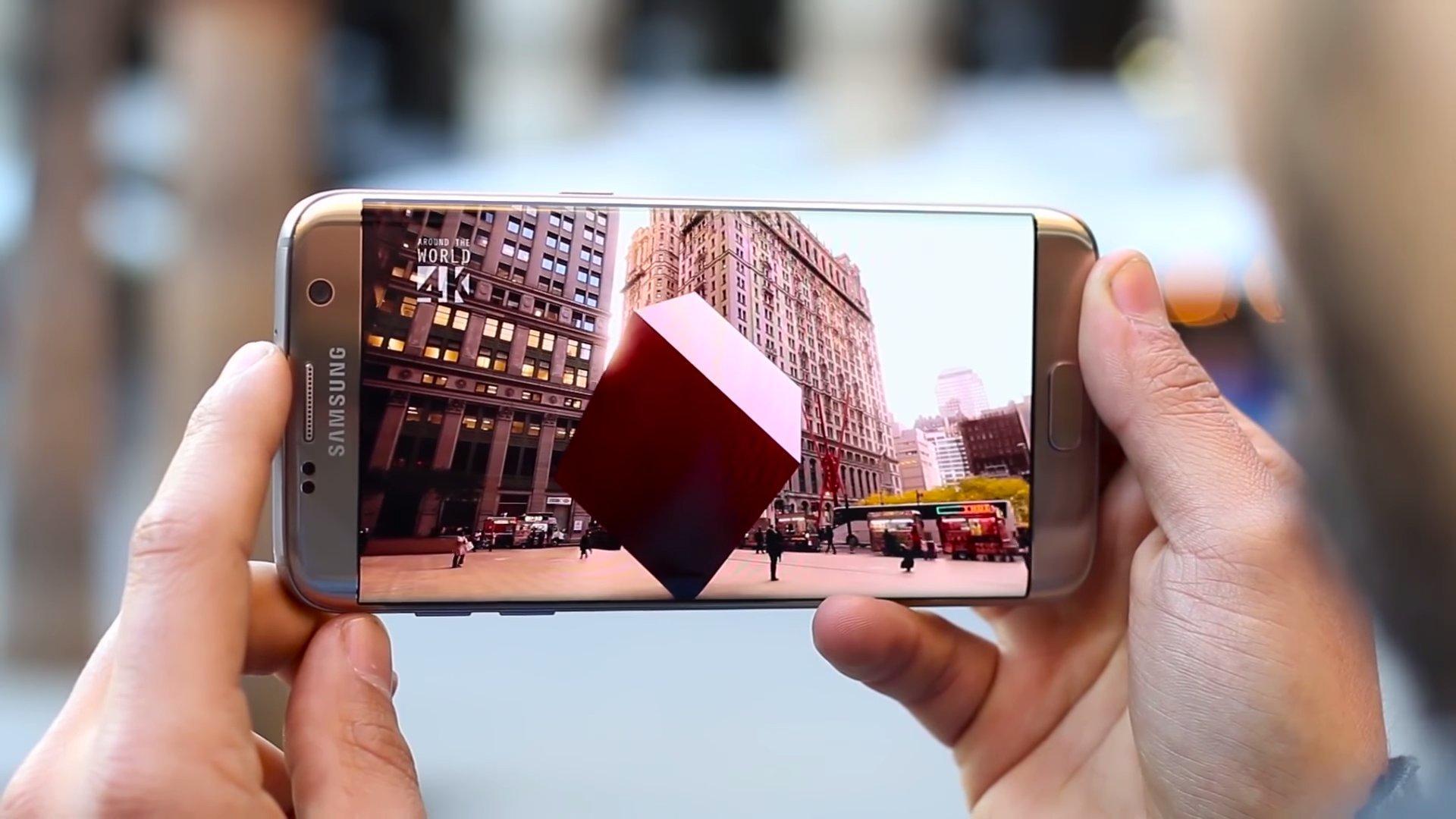 Pantalla del Samsung Galaxy S7 edge