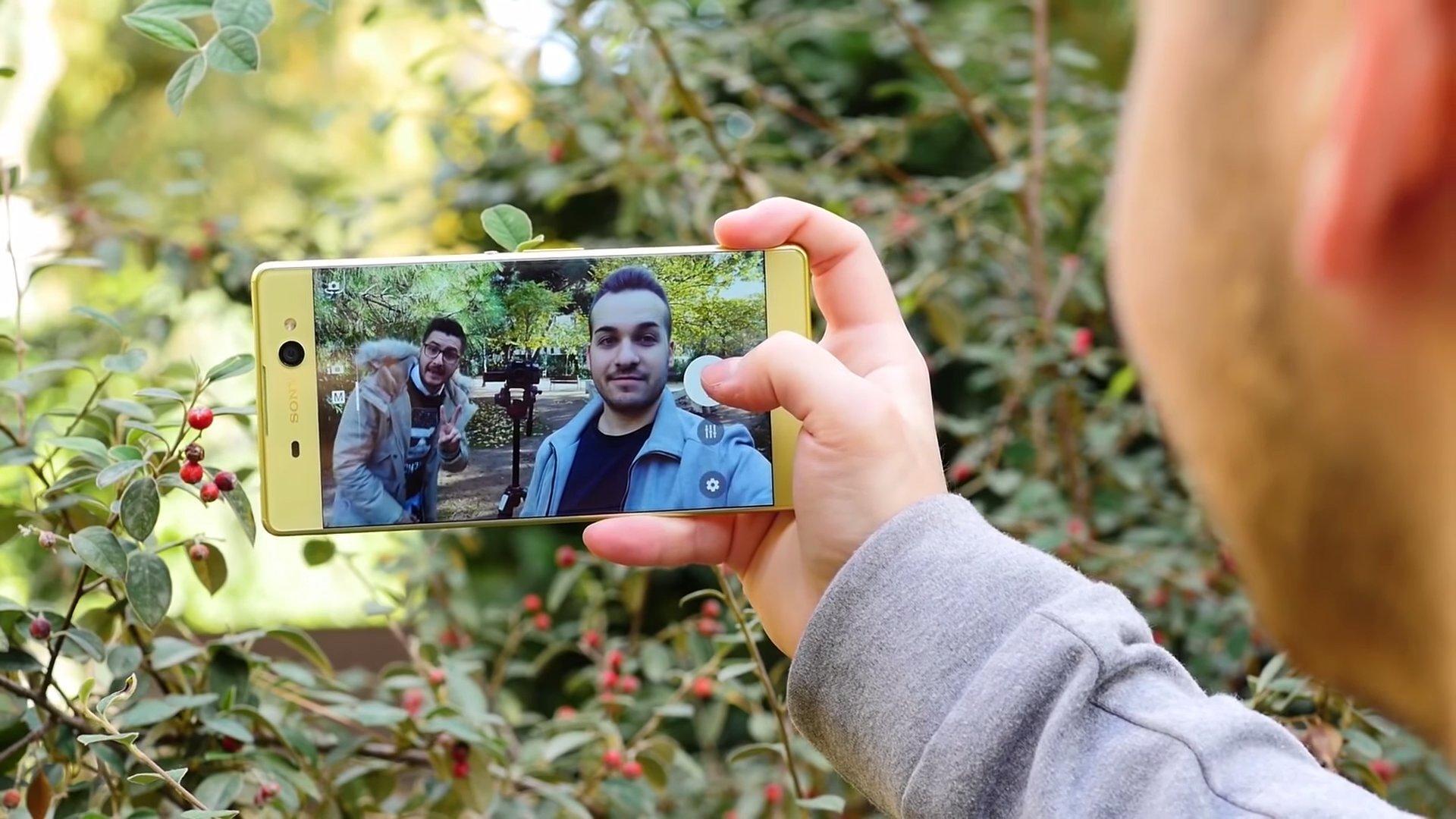 Modo selfies del Xperia XA Ultra
