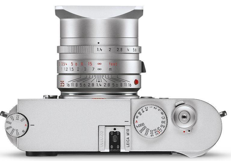 Imagen superior de la Leica M10